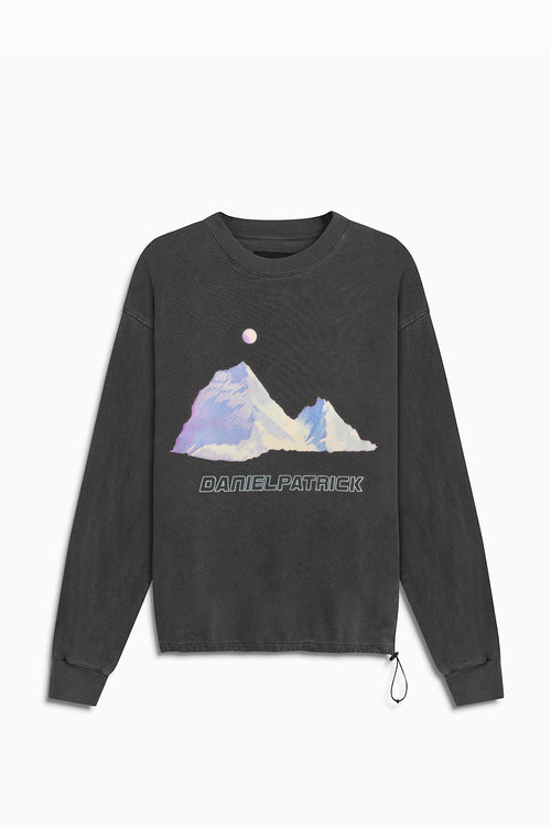 desert mountain bungee sweatshirt / vintage black