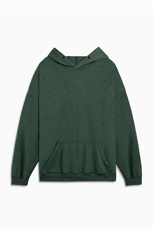 loop terry standard hoodie / hunter green