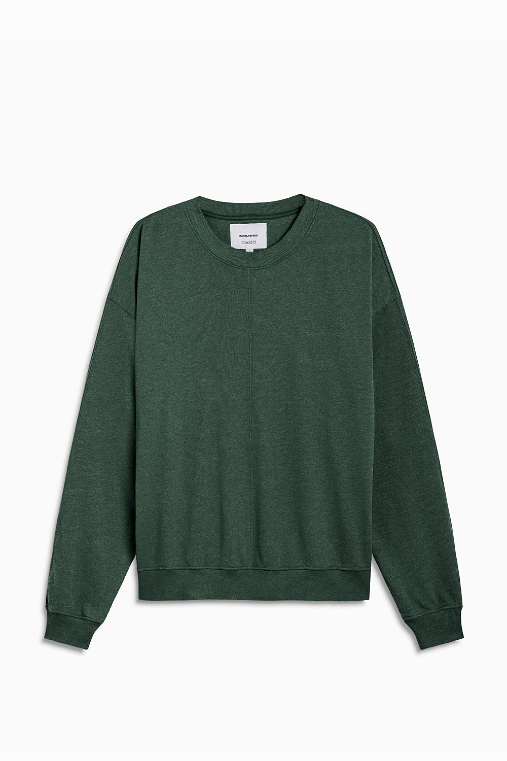 loop terry standard sweatshirt / hunter green