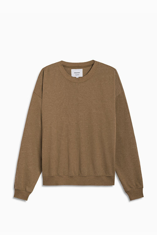 loop terry standard sweatshirt / mojave