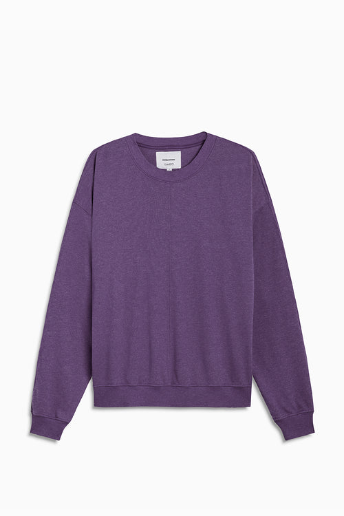 loop terry standard sweatshirt / ultra violet