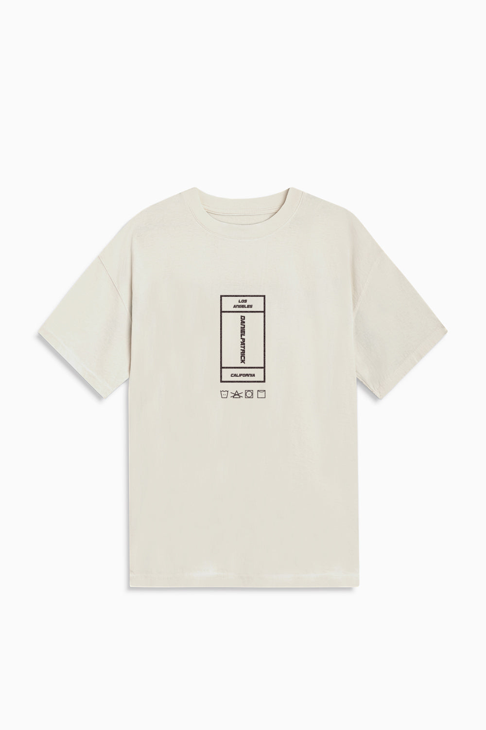 vertical rectangle tee / natural