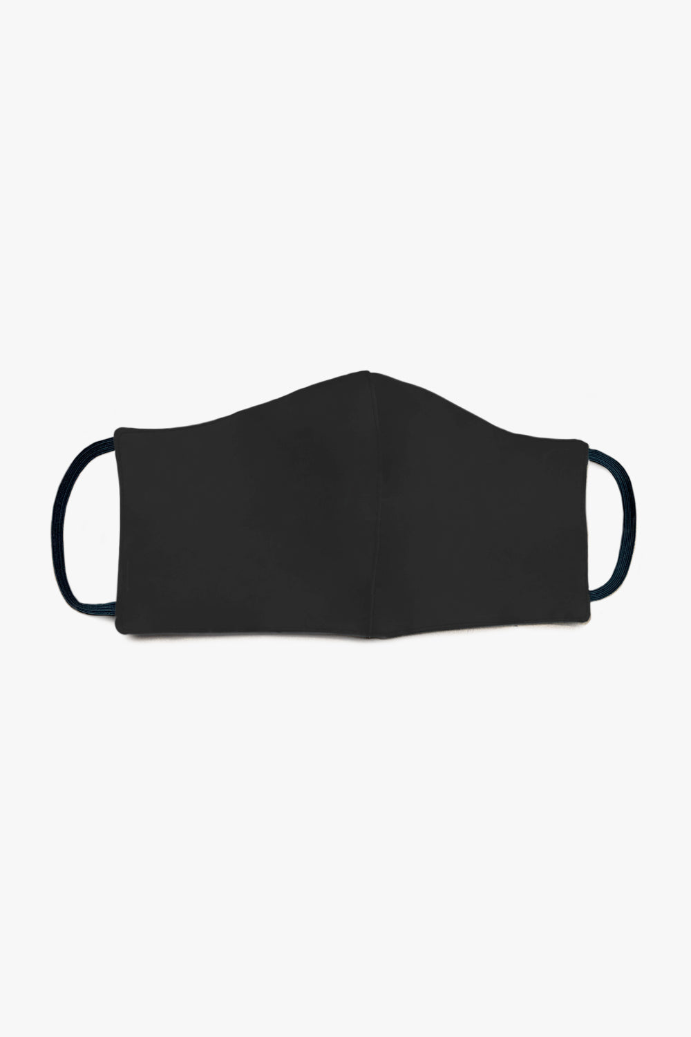 kids face mask / black