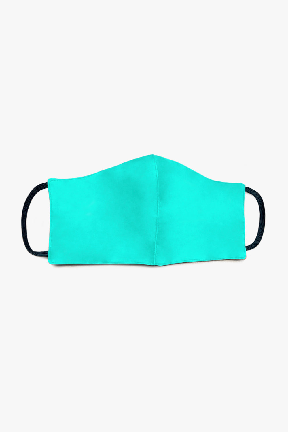 kids face mask / turquoise