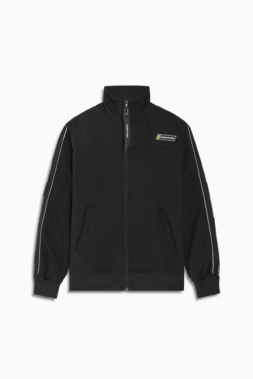 2020 slim track jacket / black + 3m