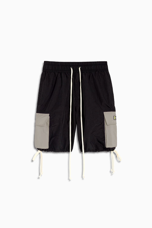 M93 cargo short / black + smog grey
