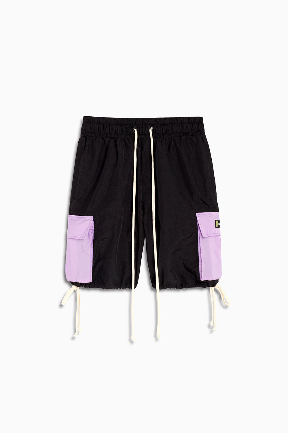 M93 cargo short / black + purple haze