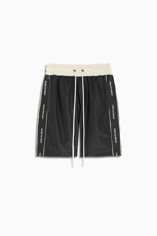 3M Mesh Gym Short / black + ivory