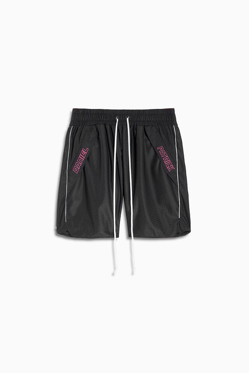 Logo Pocket Gym Short / black + 3m + pink