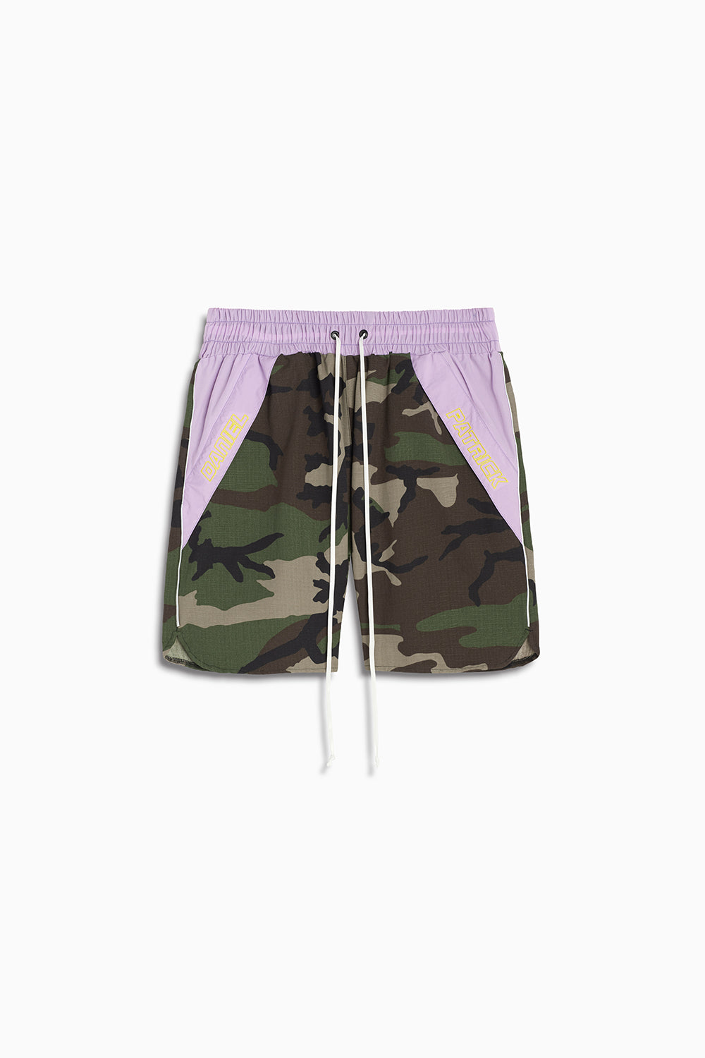 Logo Pocket Gym Short / camo + 3m + purple haze
