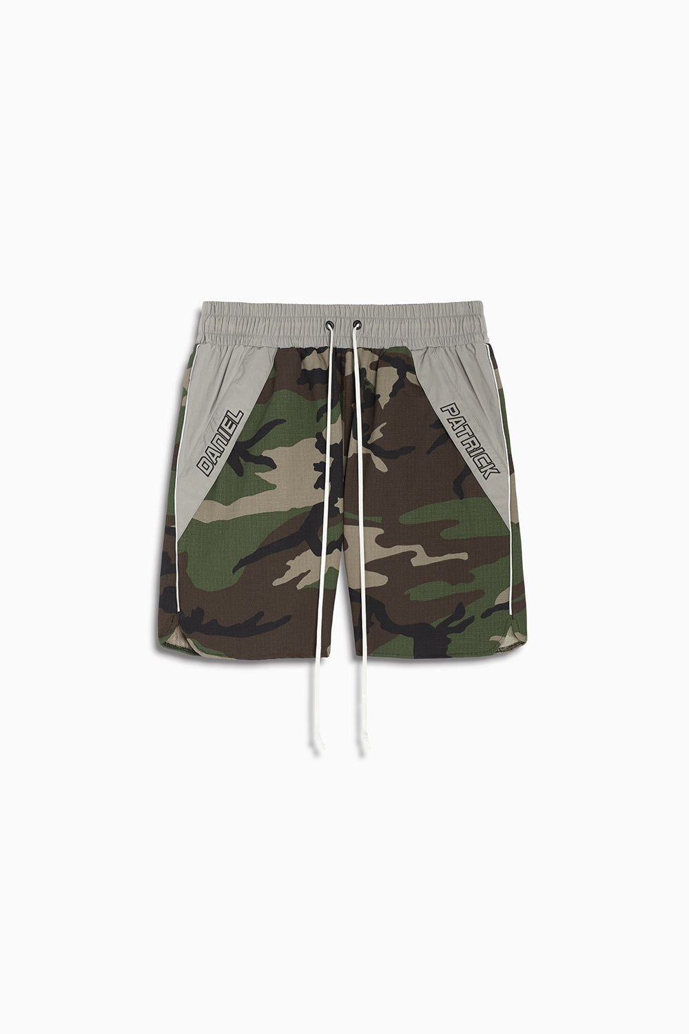 Logo Pocket Gym Short / camo + 3m + smog grey