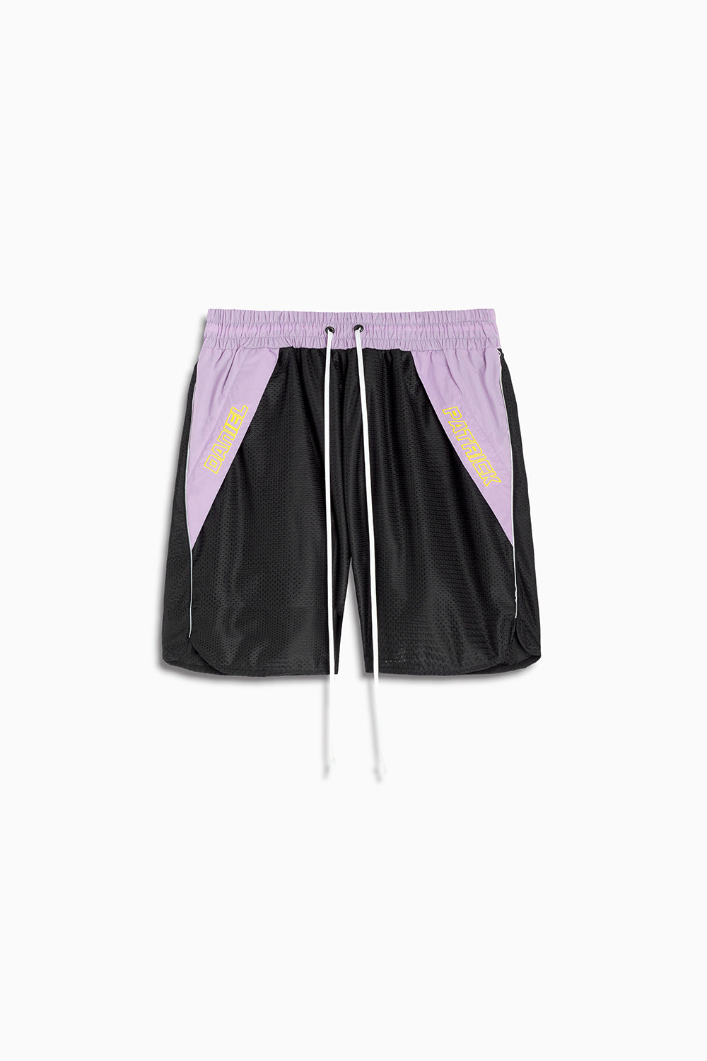 Logo Pocket Gym Short / black + 3m + purple haze