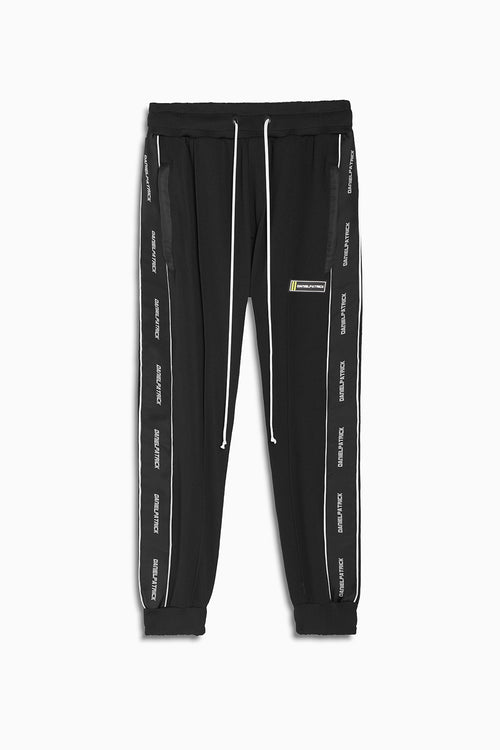 2020 slim track pant piping / black + 3m