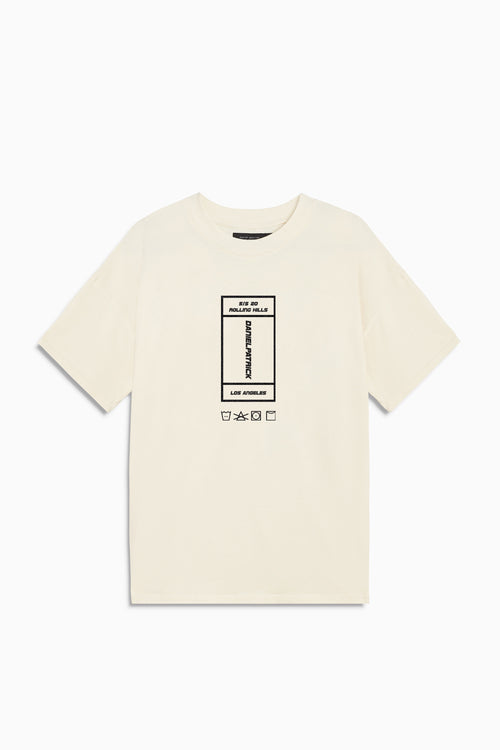 rolling hills rectangle tee / natural