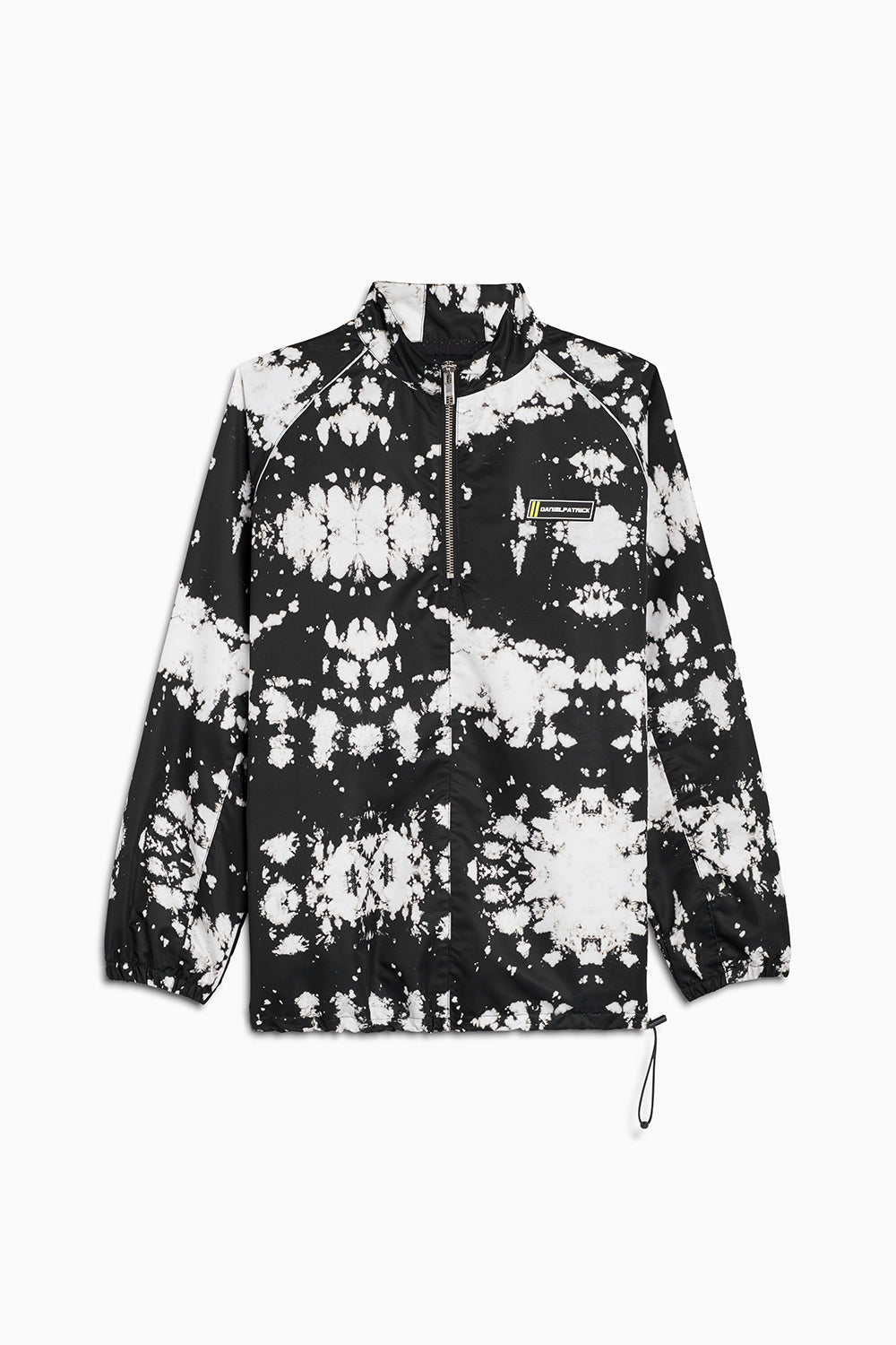 pullover batting jacket / white acid