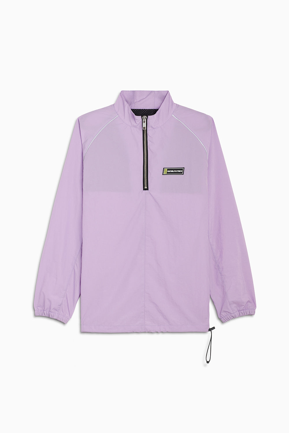 pullover batting jacket / purple haze