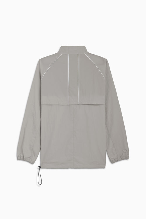 pullover batting jacket / smog grey