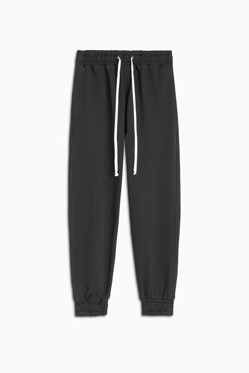 roaming track pant ii / washed black
