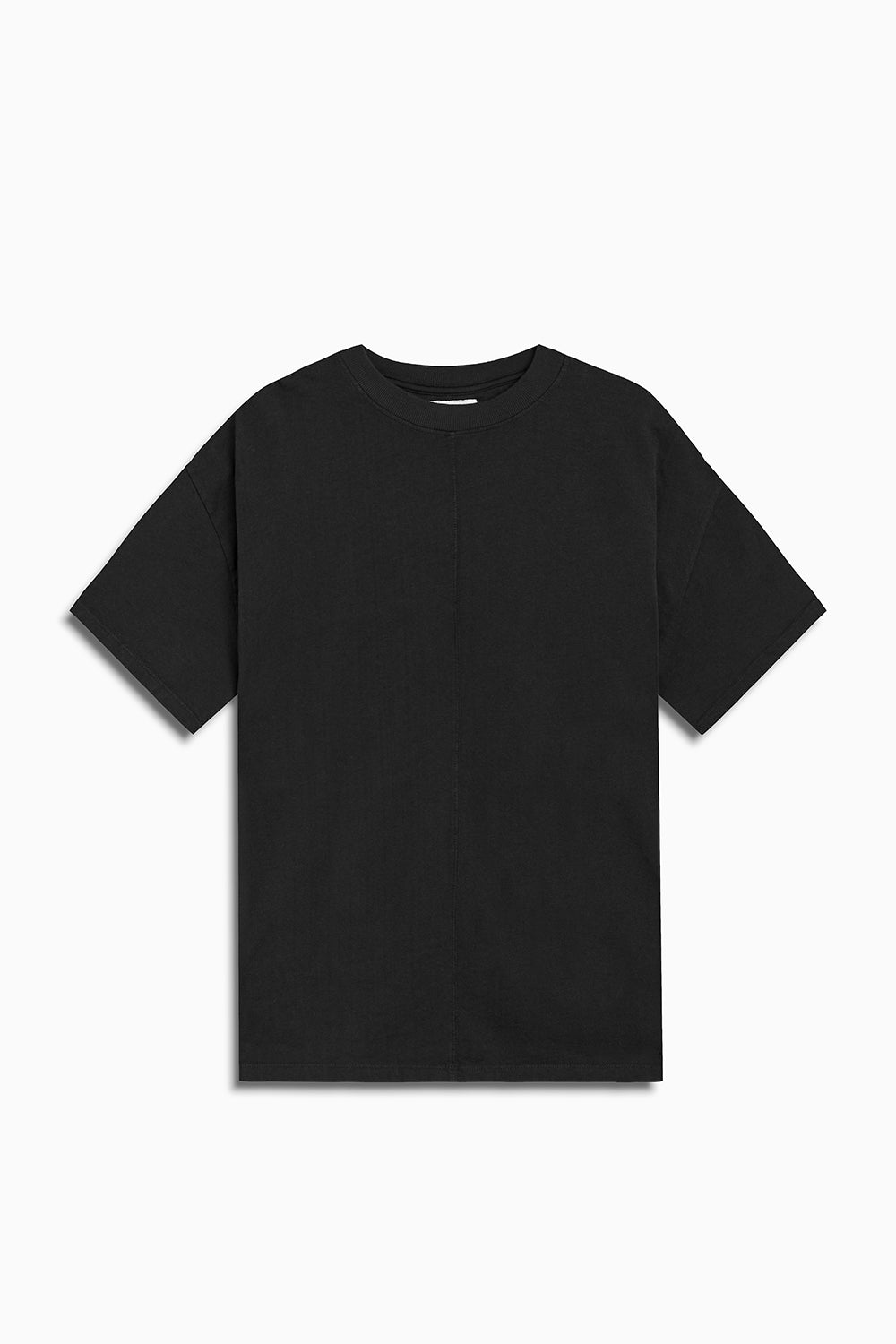 standard tee / washed black
