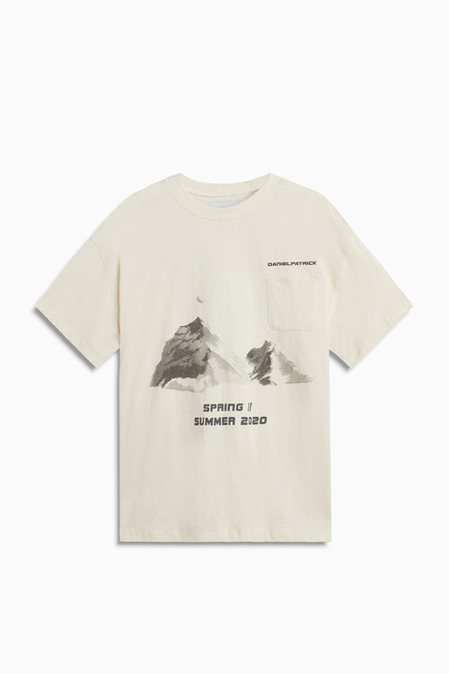 desert mountain pocket tee / natural