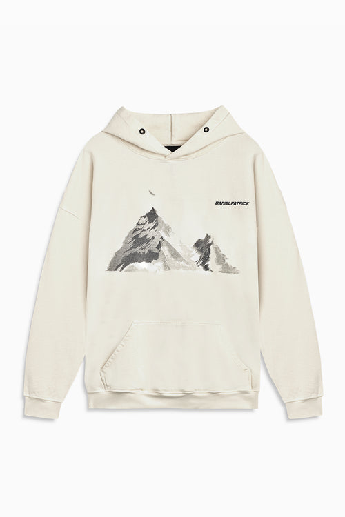 desert mountain hoodie / natural