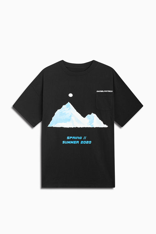 desert mountain pocket tee / black