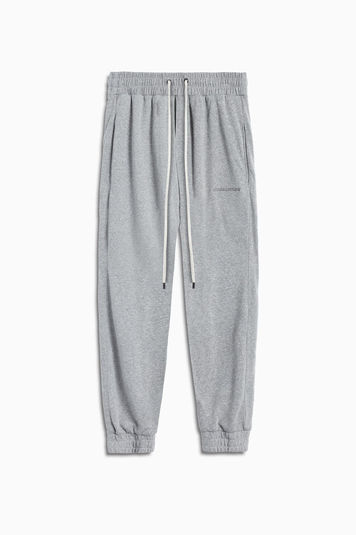 loop terry roaming sweatpants / heather grey