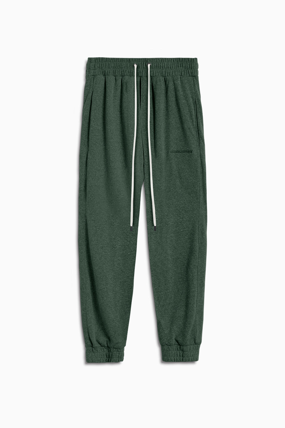 loop terry roaming sweatpants / hunter green