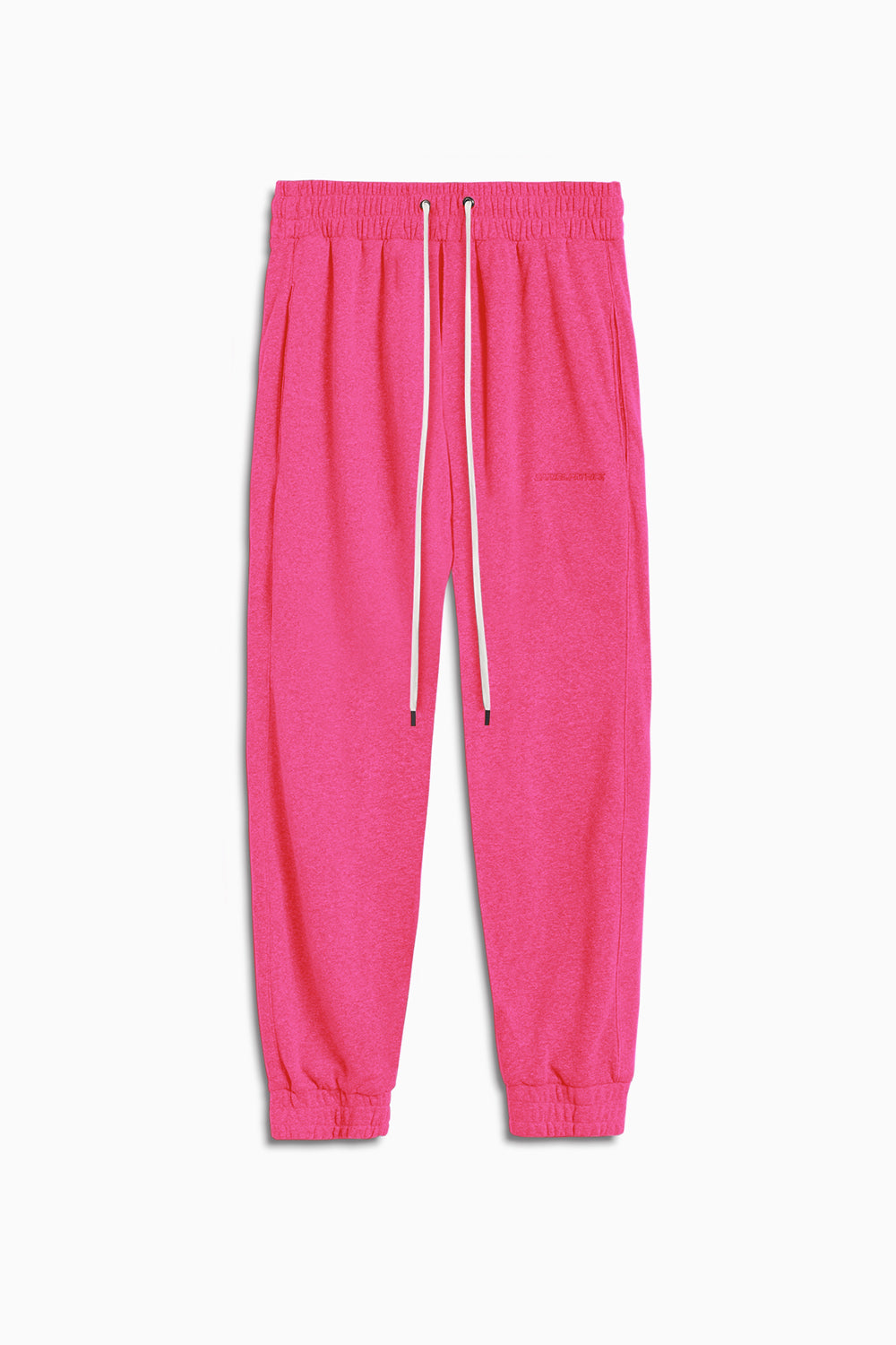 loop terry roaming sweatpants / wildflower pink