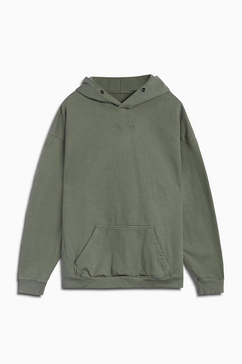 standard hoodie / washed olive