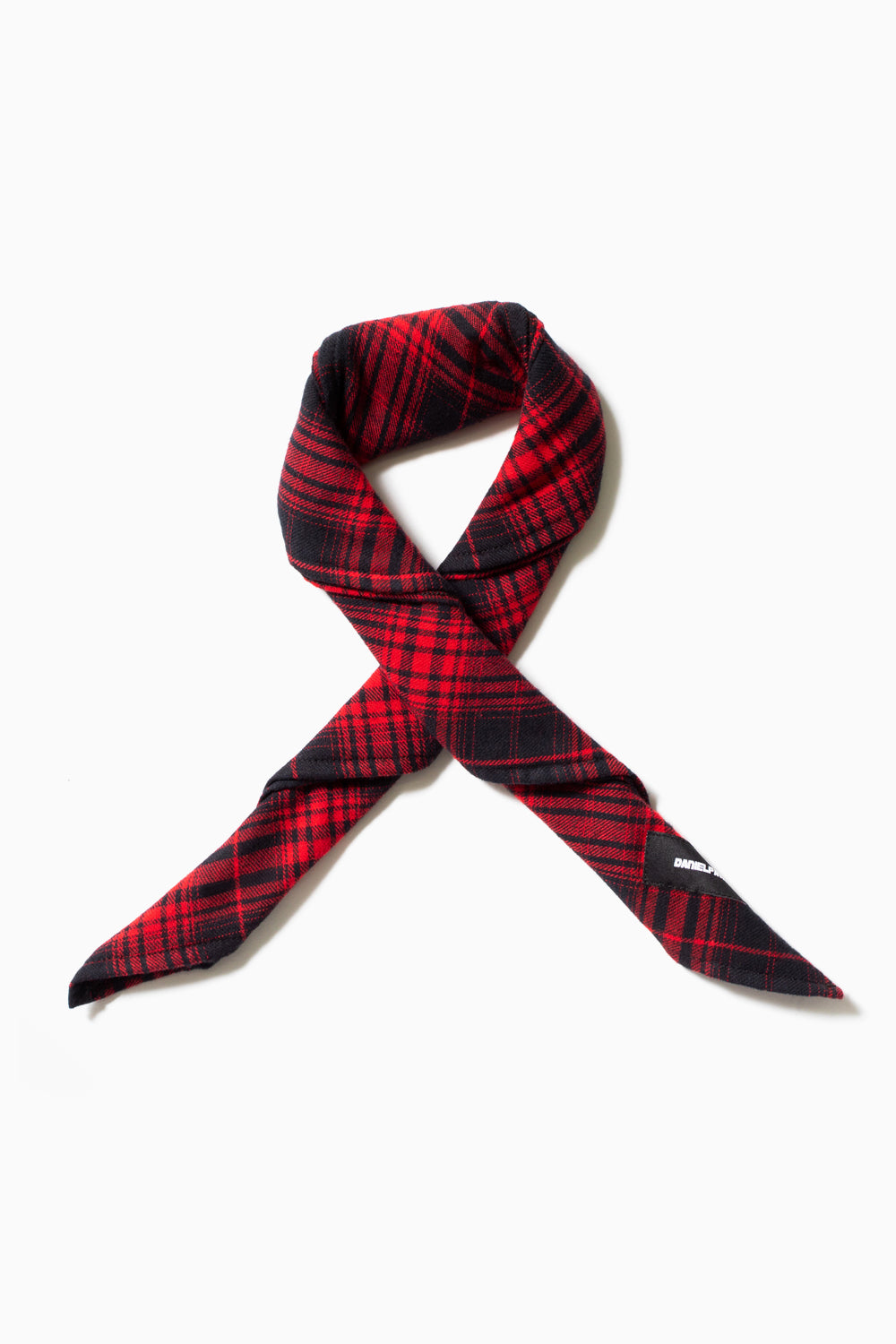 flannel bandana / red plaid