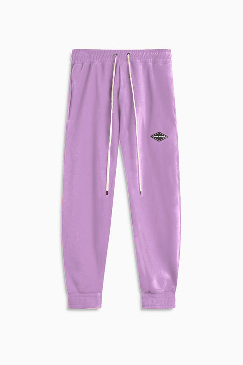 polar fleece roaming sweatpants / purple haze