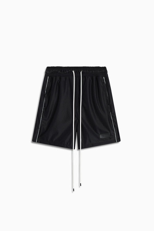 b-ball mesh gym short / black + 3m