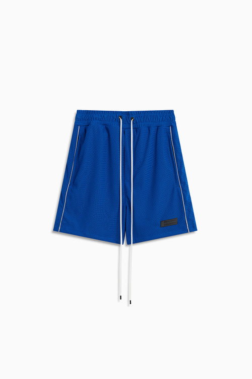 b-ball mesh gym short / cobalt + 3m