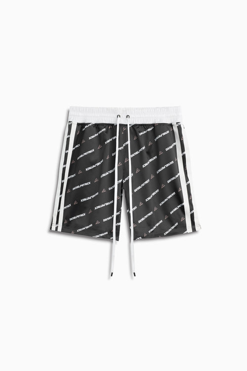 DP adidas Basketball print shorts / black