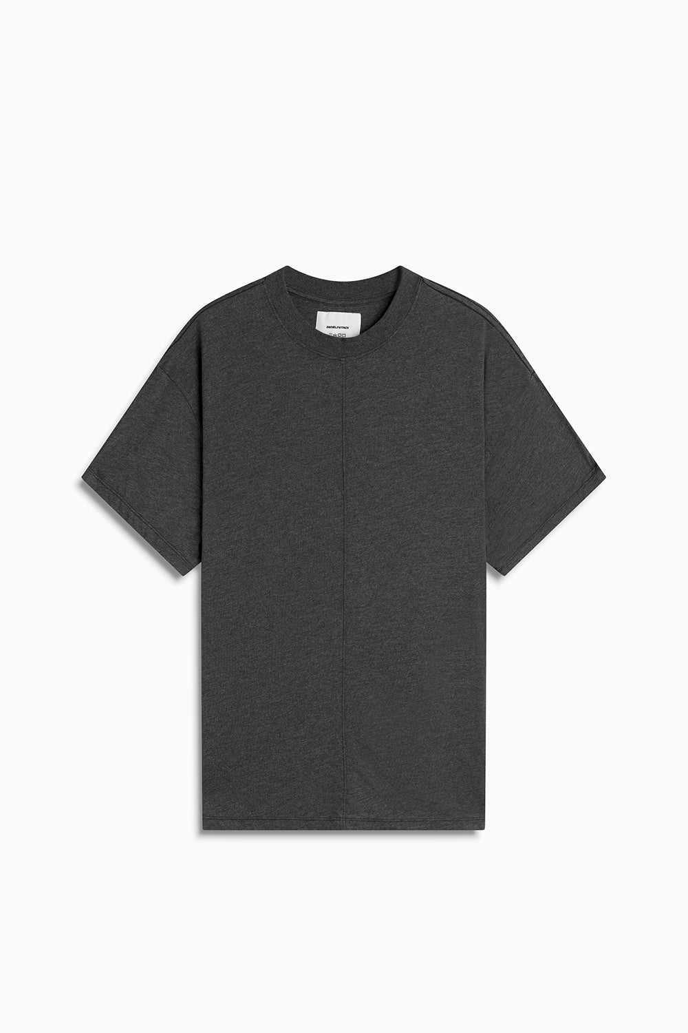 tri-blend standard tee / black heather