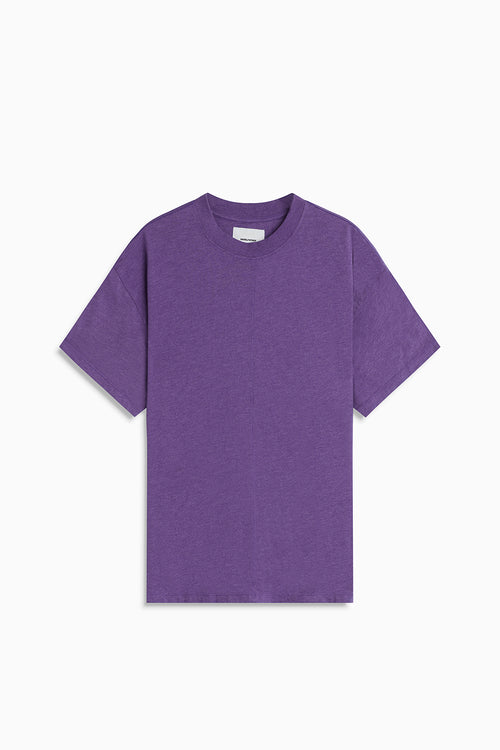 tri-blend standard tee / ultra violet heather