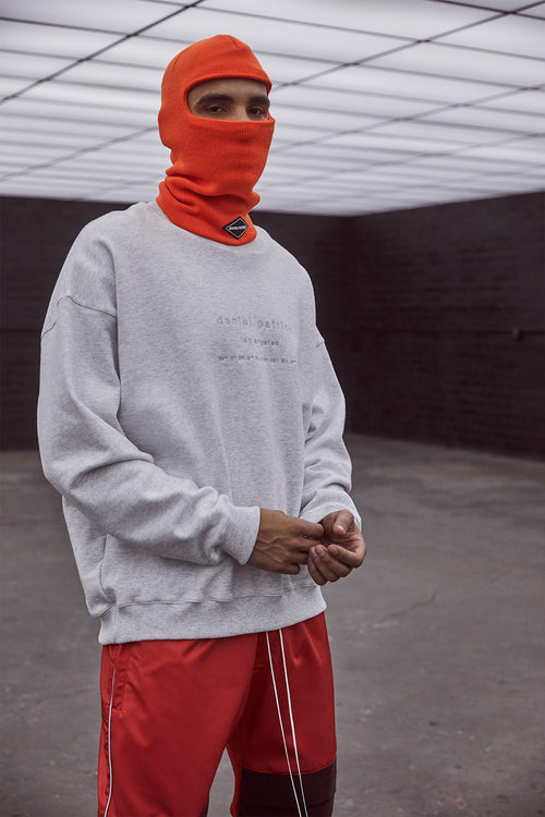 DP ski mask / neon orange