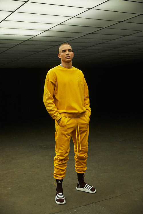 DP adidas Basketball pants / hazy yellow