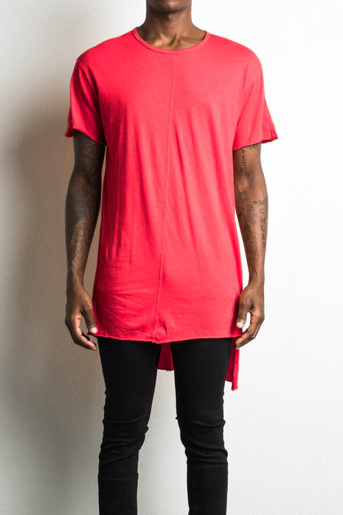 trail tee ii / red