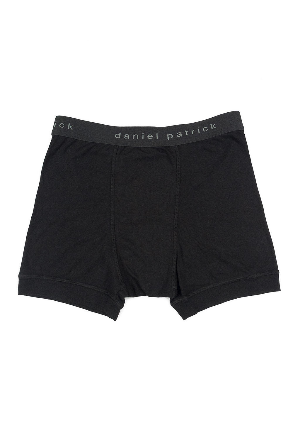 Black Logo Boxer Briefs