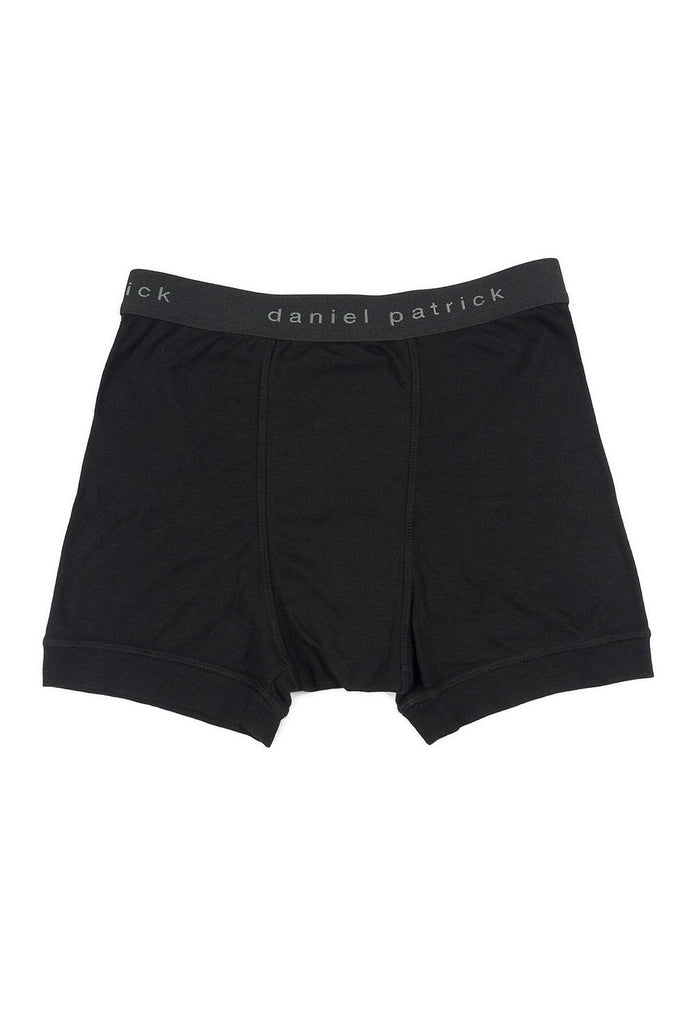 Men's Black Boxer Briefs By Daniel Patrick