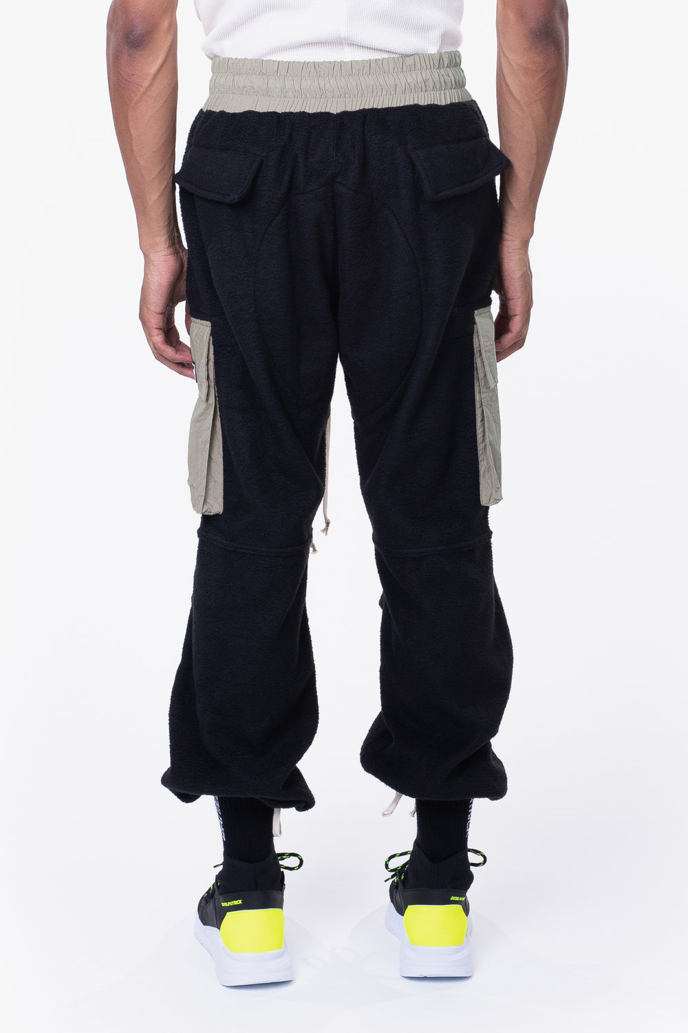M93 cargo pant / black polar + smog grey
