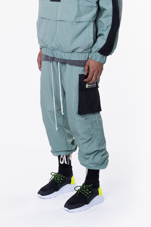M93 cargo pant / sea foam + black
