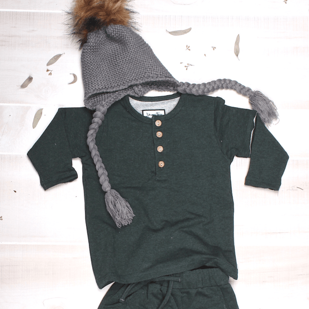Young and Free jogger Forest Green Joggers