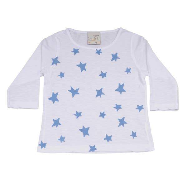 SHirin NYC long sleeve shirt 2T-3T White 3/4 Sleeve Shirt
