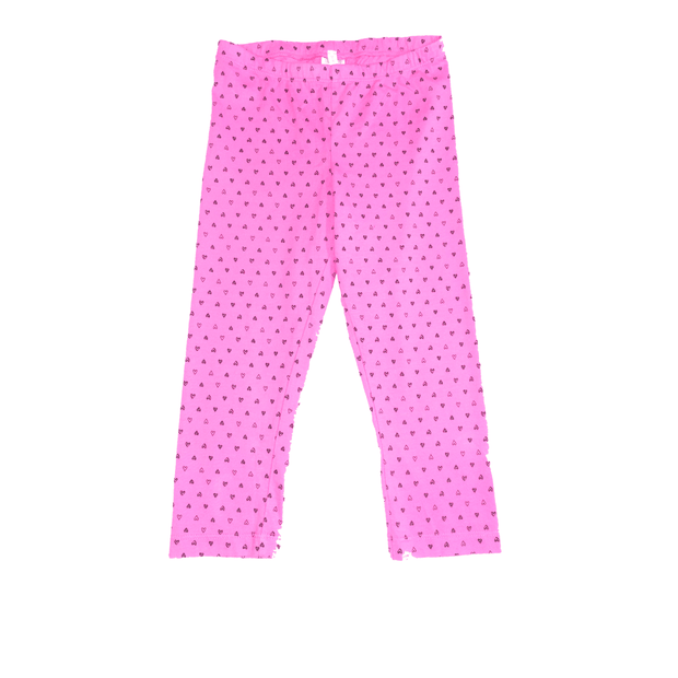 Pink Peony Kids Short pants Pink Capri Leggings