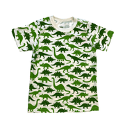 Winter Water Factory short sleeve shirt 3T Green Dinosaur Shirt