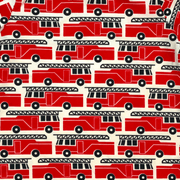Winter Water Factory short sleeve shirt Red Firetruck Shirt