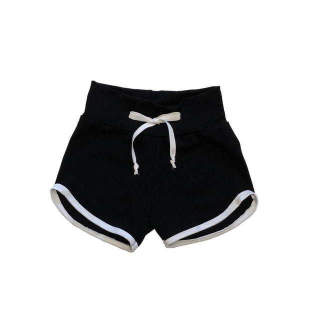 Skuttlebum Shorts Black Retro Shorts